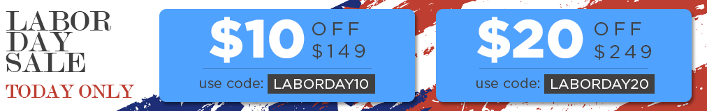 Labor day sale homepage