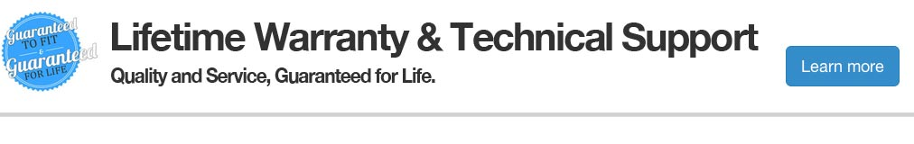 Lifetime warranty support
